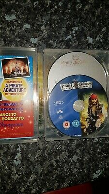 Pirates of the caribbean on stranger tides Steelbook Blue Ray