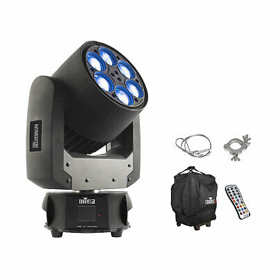 CHAUVET DJ Intimidator Trio LED Moving Head Effect Stage Light with Bag, Remote