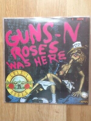 """Guns N' Roses Was Here , My Michelle  7"""" Record"""