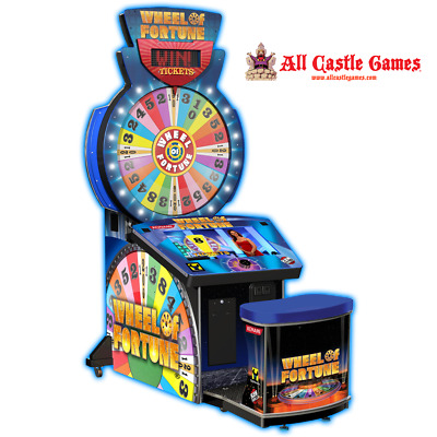 Wheel of fortune arcade Redemption Game from Raw Thrills