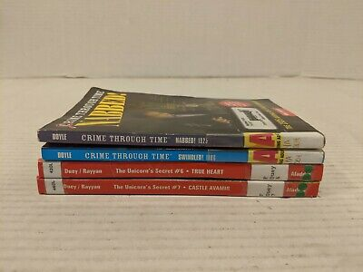 Lot of 4 Chapter Books for BOYS Youth Early Reader Young Adults Children FS!!
