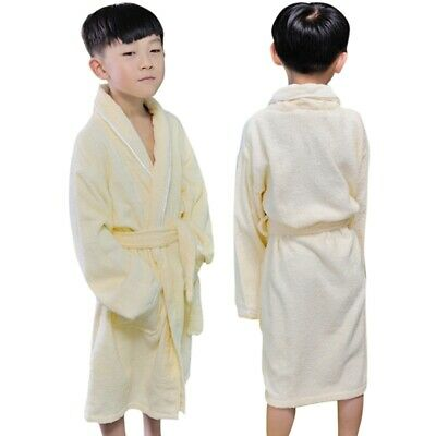 Girls Boys Children Bathrobe Kids Comfort Sleepwear Super Soft Child Home Wear