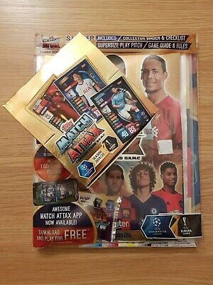 Topps Match Attax 2019/20 Champions League Starter Pack