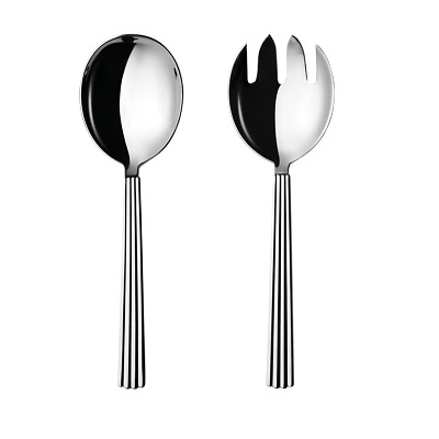 Bernadotte by Georg Jensen Stainless Steel Flatware Serving Set 2-pc New