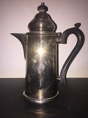 Vintage Antique Silver Plated EPNS Coffee pot Hot Water Jug Flask