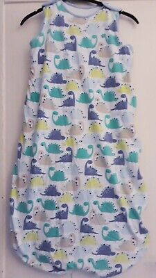 Mother care baby sleeping bag 18-36 2.5 tog dinosaurs