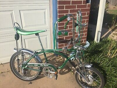 1974 Schwinn 10-speed Pea Picker Krate Stingray Bicycle