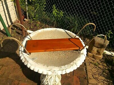 Vintage Antique Oak Victorian Clawfoot Bathtub Seat Tub Bath Bathroom Shower