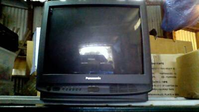 Vintage Retro Panasonic 21' Colour TV good condition with Remote