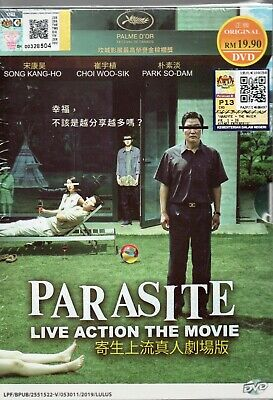 Korean Movie DVD Parasite 寄生蟲 (2019) English Subtitle Free Shipping