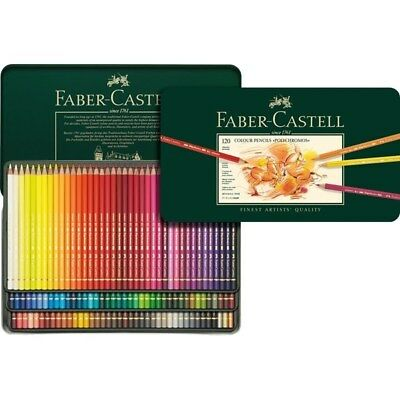 Faber Castell Polychromos Pencils Tin of 120 Free Express Post