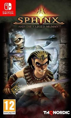 Sphinx and the Cursed Mummy (Nintendo Switch) NEW SEALED