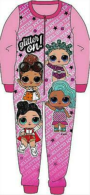 Girls Lol Surprise All In One Pyjamas Pj Set Kids