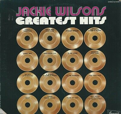 Jackie Wilson's-Greatest Hits-Stereo