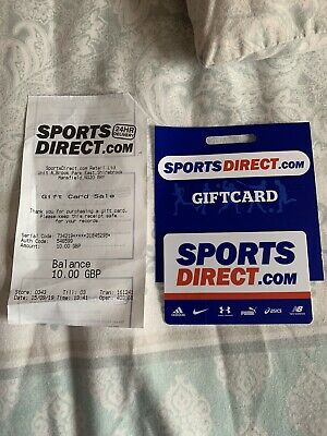 Sports Direct £10 Gift Card