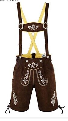 Mens / Womens Lederhosen Ridex As Brand New Waist 32""