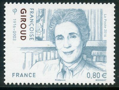 Stamp Timbre France Neuf N° 5079 ** Francoise Giroud Ecrivaine