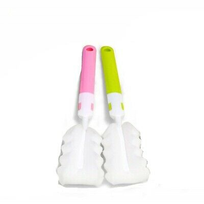 Water Bottle Brush Cleaner Sponge Long Handle Kitchen Scrub For Baby Bottle