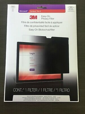 NEW SEALED Air 2 Privacy Filter Model EOTAP001 3M Easy-On Apple iPad Air 1