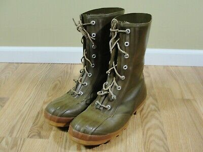 CONVERSE RUBBER BOOTS Insulated Army Green Duck Hunting Mens