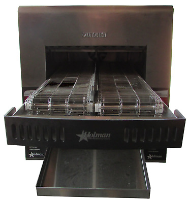 Holman / Star IRCS2-SBW Commercial Electronic Conveyor Toaster - 208V