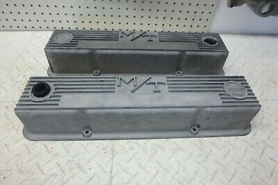 Holley 241-82 Valve Covers M//T Mickey Thompson Tall SBC Small Block Chevy 350