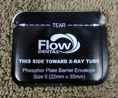Flow Dental Barrier Sleeves -Phosphor Plates / Size 0 / QTY: 200