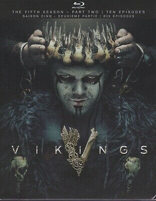 VIKINGS THE FIFTH SEASON PART TWO BLURAY SET with Katheryn Winnick & Marco Ilso
