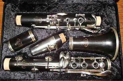 Clarinet Bb Buffet Evette Master Model (E12) France wood new pads & corks