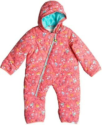 Roxy Rose Jumpsuit Jacket Baby Girls Size 12 Months 1006
