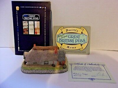 Malcolm Cooper Signed Smith Arms 1986 Great British Pubs Tour Box COA