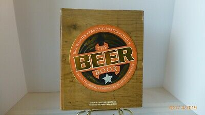 Vintage The Beer Book 2008 Hardcover Collectible Bar Decor Man Cave