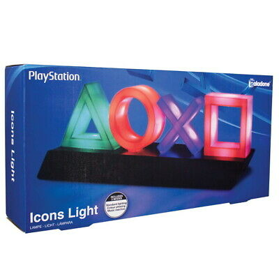 Paladone Sony PlayStation Icons Light - 3 Light Modes [Officially Licensed] NEW