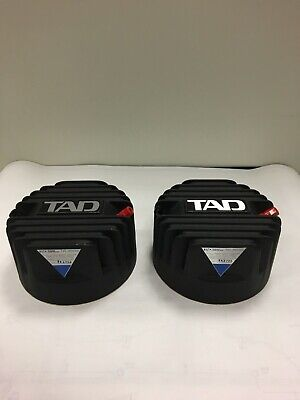 TAD matched pair of TD-4002 Drivers with original beryllium diaphragms