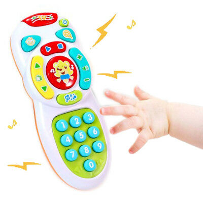 Baby toy music mobile phone remote control educational toys learning toy Gif TTR