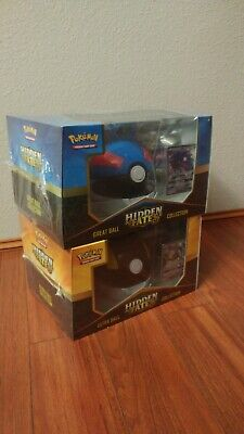 Hidden Fates Great Ball And Ultra Ball Collection Box Sealed Pokemon TCG