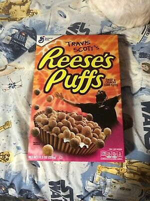 Travis Scott X Reeses Puffs Cereal 2 Boxes