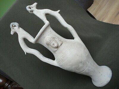Large Ancient Greek Thracian Terracotta Vessel Drinking Jug Pitcher Amphora
