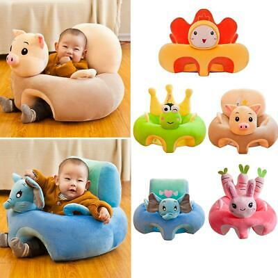 Creative Cartoon Baby Soft Sofa Cover Learning to Sit Seat Feeding Chair Case