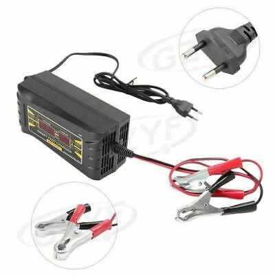 12V 10A Fast Smart Charging Battery Charger Maintainer For Car Motorcycle LCD