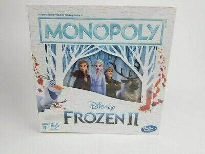 Disney Frozen II 2 Monopoly Board Game By Hasbro 2019 New Elsa Anna Olaf