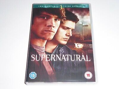 Supernatural - The Complete Third Season 3 - GENUINE UK DVD BOX SET Series Three