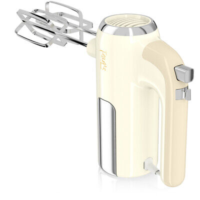 Swan Fearne Cream 5 Speed Electric Hand Stick Blender Mixer Soup Maker