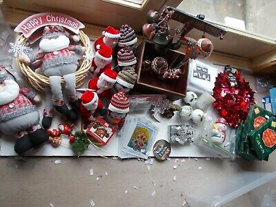 Large Christmas Job Lot : Very Assorted Mix of Oddments From Our Christmas Stock