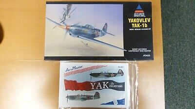Quickboost 1//48 Yakovlev Yak-1 flaps for Accurate Miniatures kit # 48297
