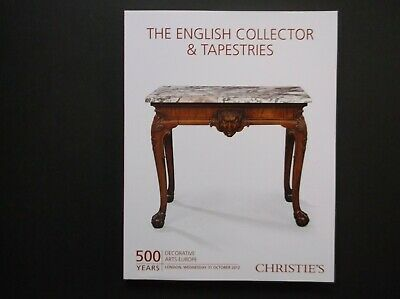 English Collector & Tapestries Furniture Mirrors Clocks Tompion Christie's 2012