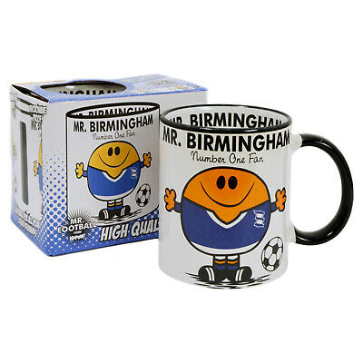 Birmingham City FC Mug. Gift for Man Football Soccer Present Xmas Idea Men