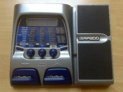 DIGITECH RP 200 Guitar Synth Multi Effect Pedal. Very Good Condition !