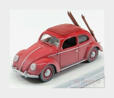 Volkswagen Beetle Kafer With Ski 1953 Red RIO 1:43 RIO4561 Modellbau