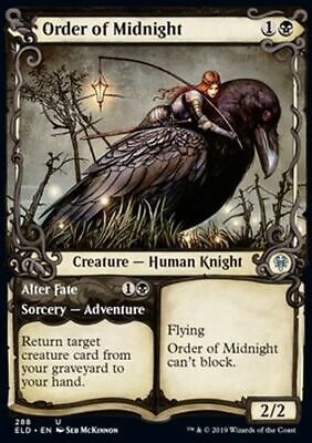 FOIL: Order of Midnight (Uncommon) - Throne of Eldraine *TOP Magic MtG*